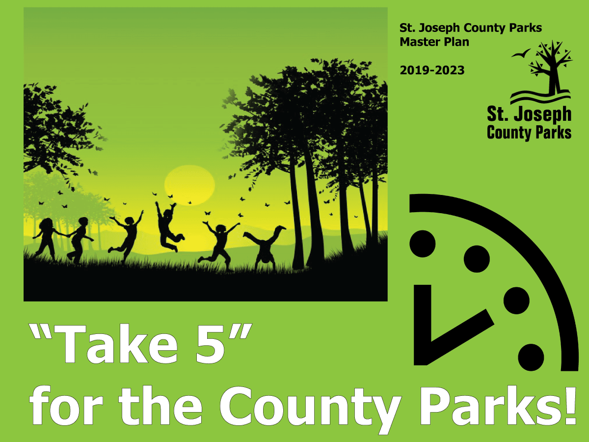 Invitation to take the St. Joseph County Park Master Plan Survey