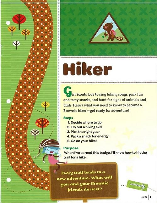 Brownie Hiker Badge