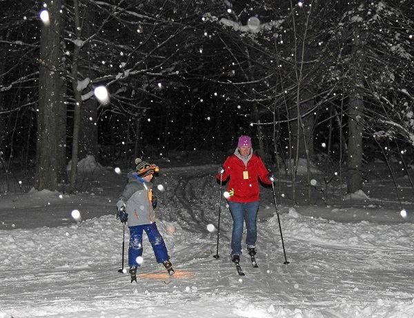 Skiing Under the Stars - 2
