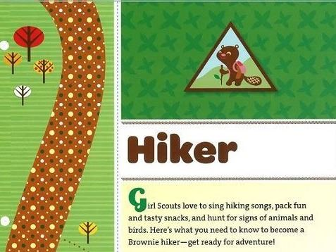 hiker badge image
