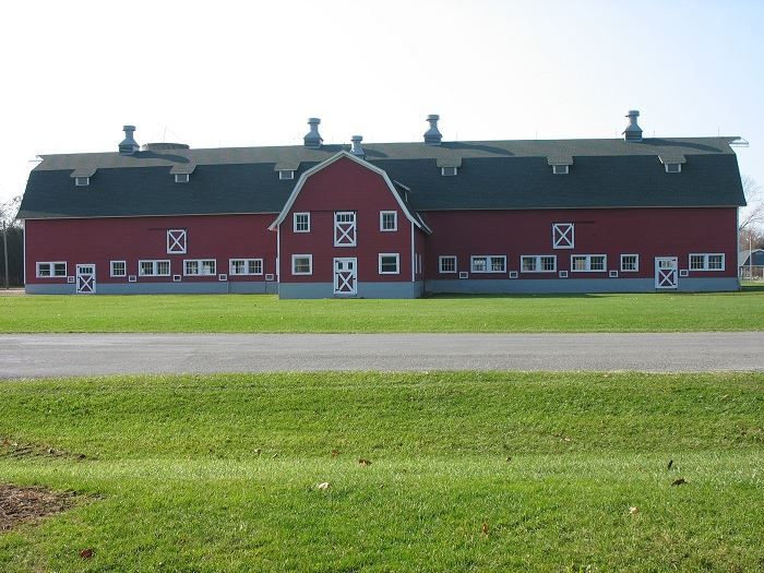 Red Barn Exterior
